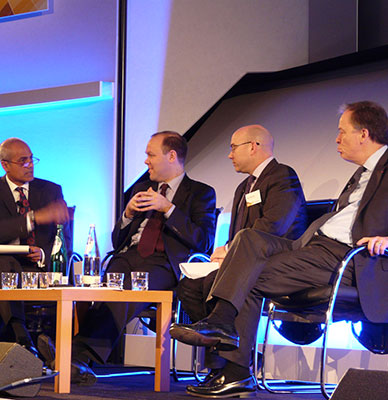 Conference Alagiah, Hendry, Neil Bentley